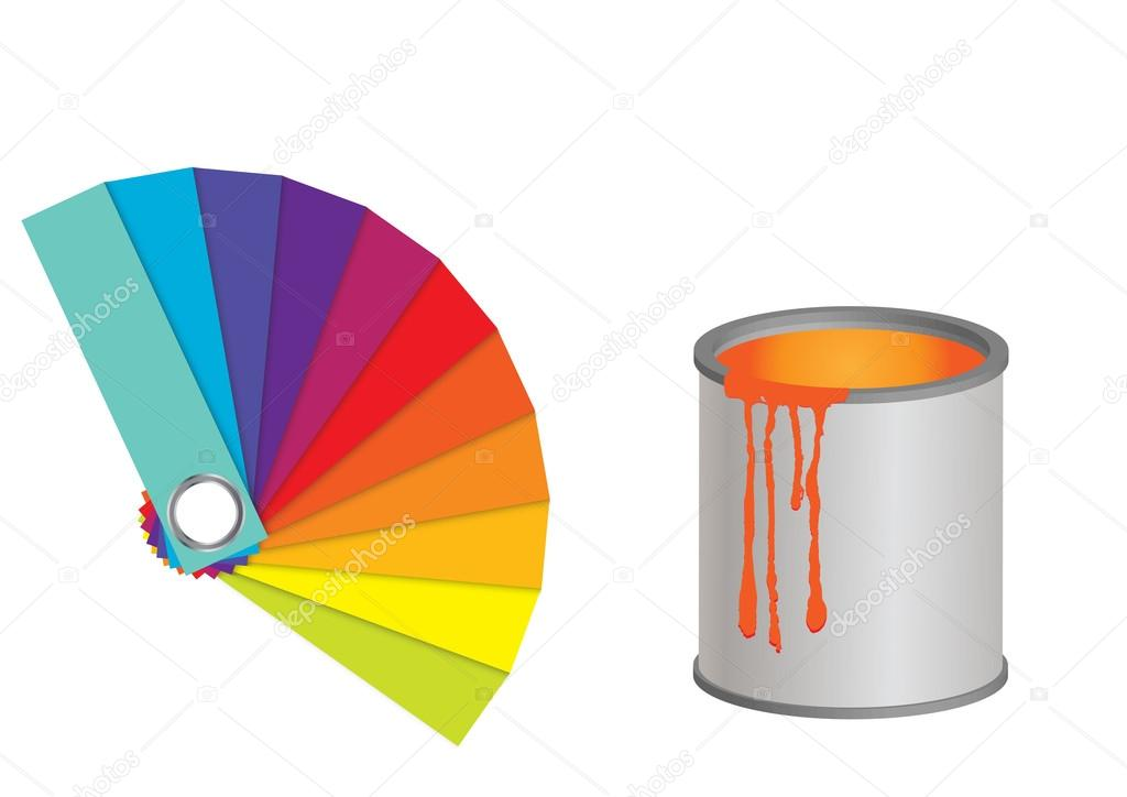 Color fan. — Stock Vector © Mix3r #36388095.