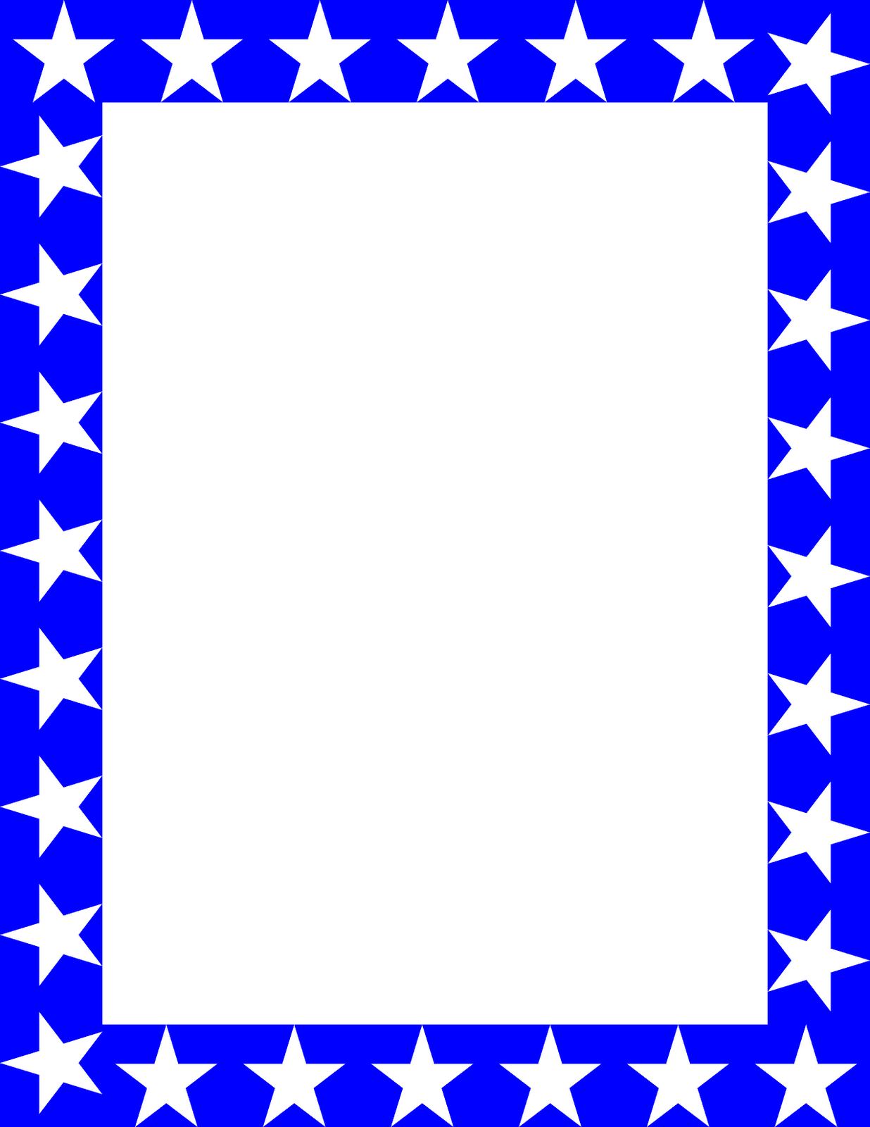 Free Blue Borders And Frames.