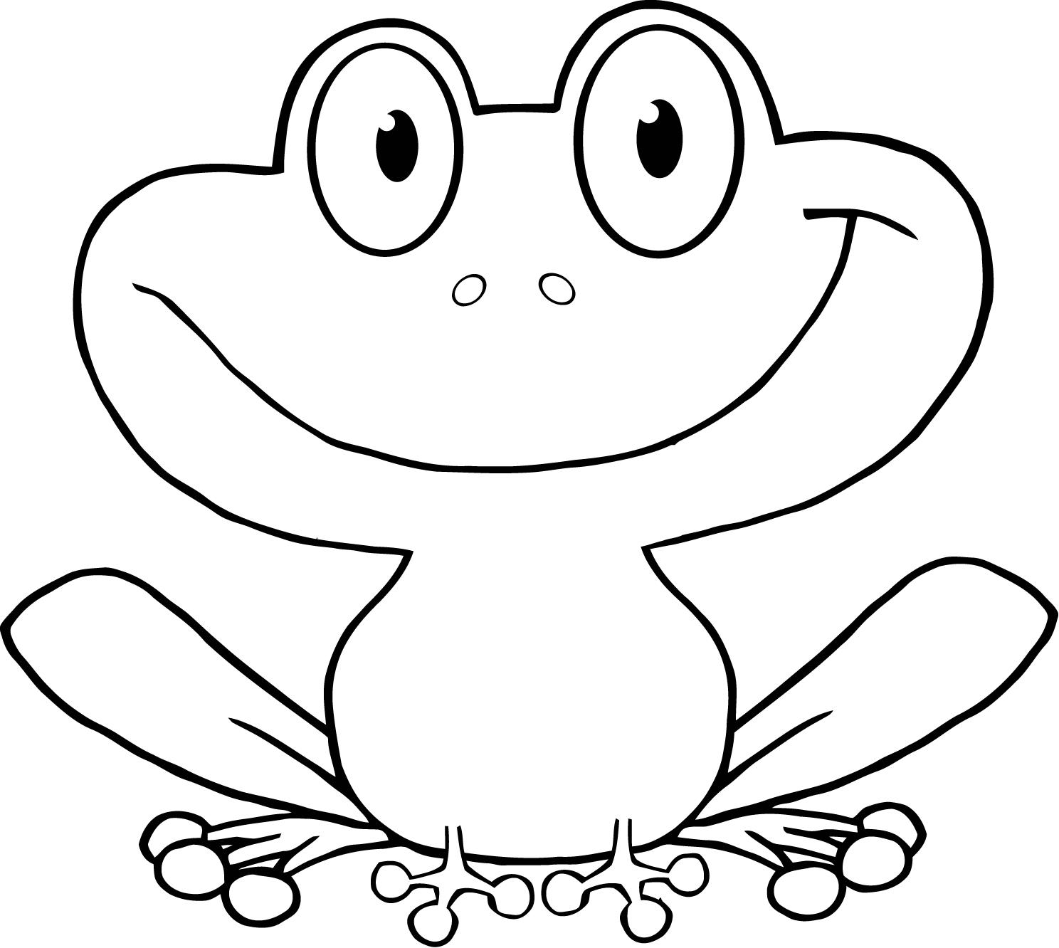 Cartoon Picture Of A Frog.