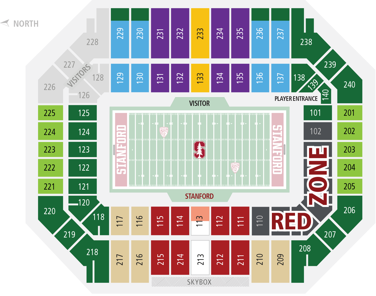Stanford Football Central • Tickets.