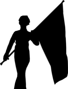 Color Guard Silhouette 2.