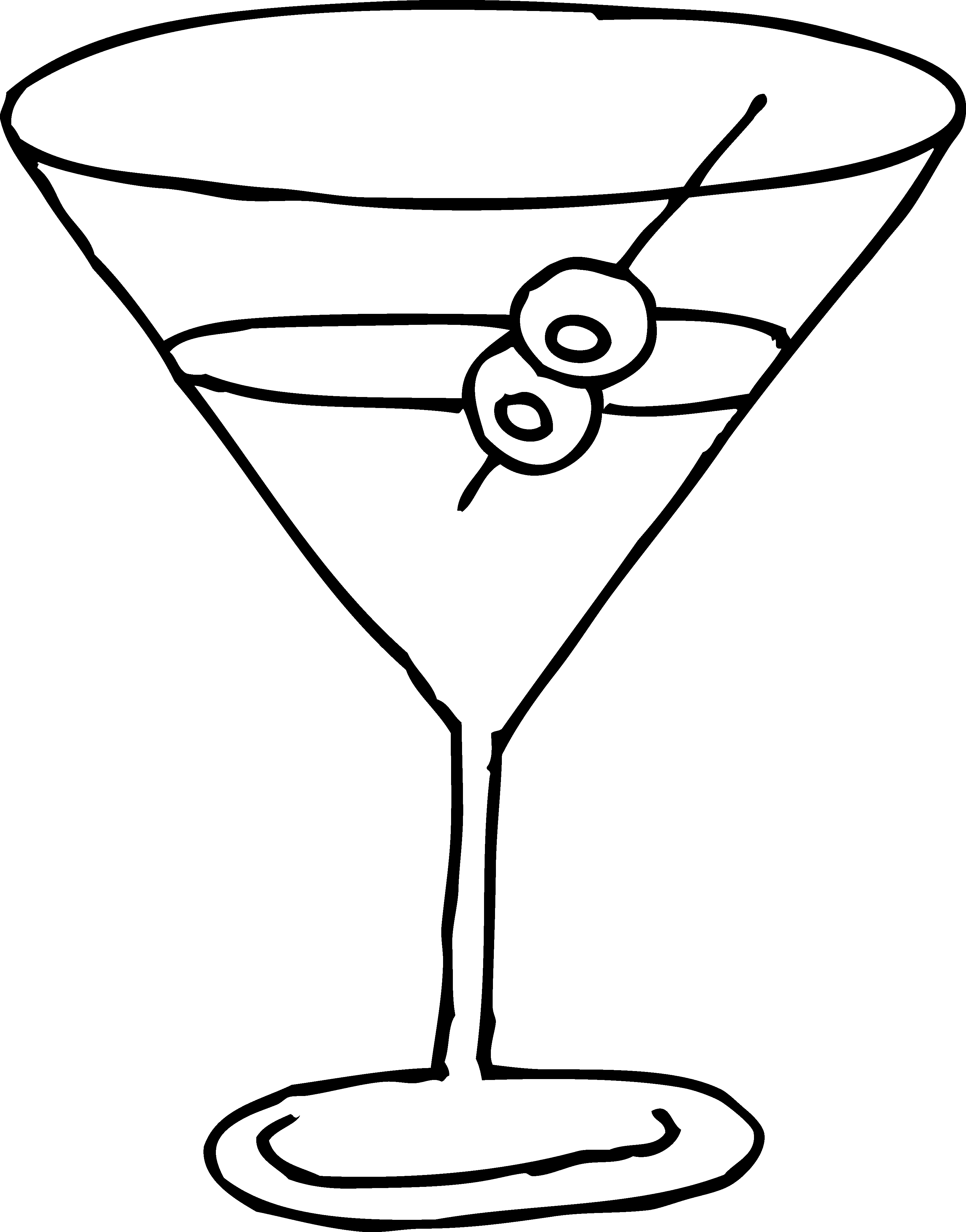 Cocktail clipart color transparent.
