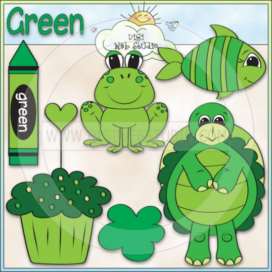 Learn The Color Green 1.