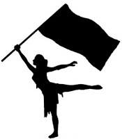 Marching Band Color Guard Clipart#2096332.
