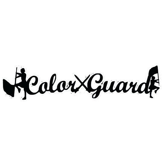 color guard flag clip art.