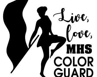 Color guard art.