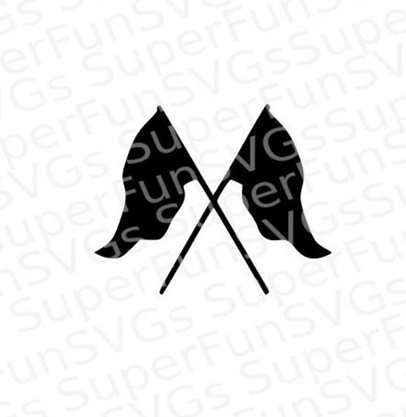 Color Guard Flags SVG.