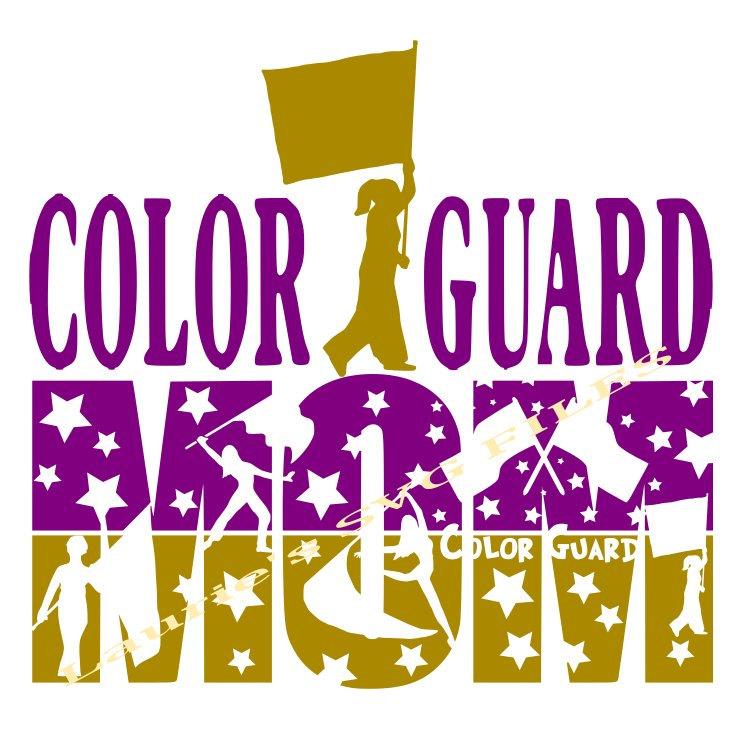 Color guard mom.