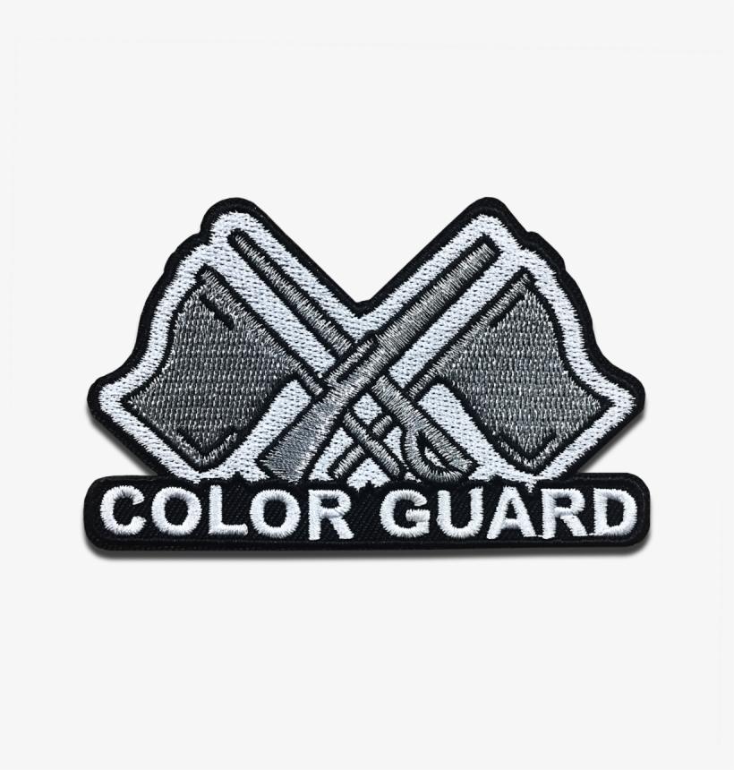 Color Guard Instrument Patch.