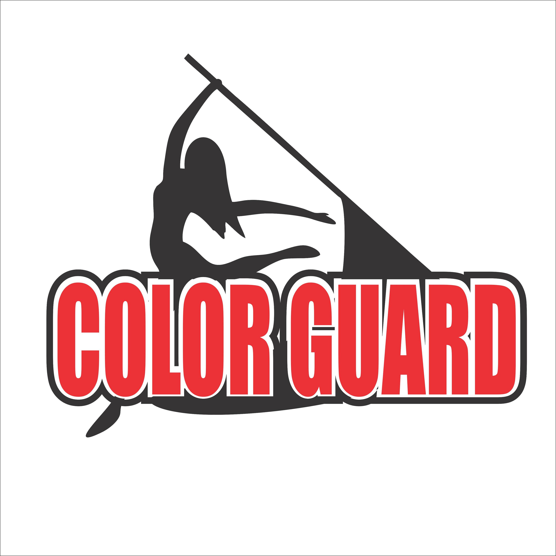 color guard design Digital File SVG, ESP, PNG, Jpg File.