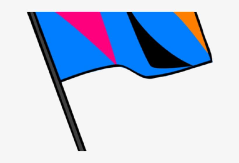 Rifle Clipart Color Guard Flag Transparent PNG.