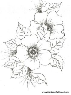 Flower image, clip art. Color in. Blank, fill in yourself. Pretty.