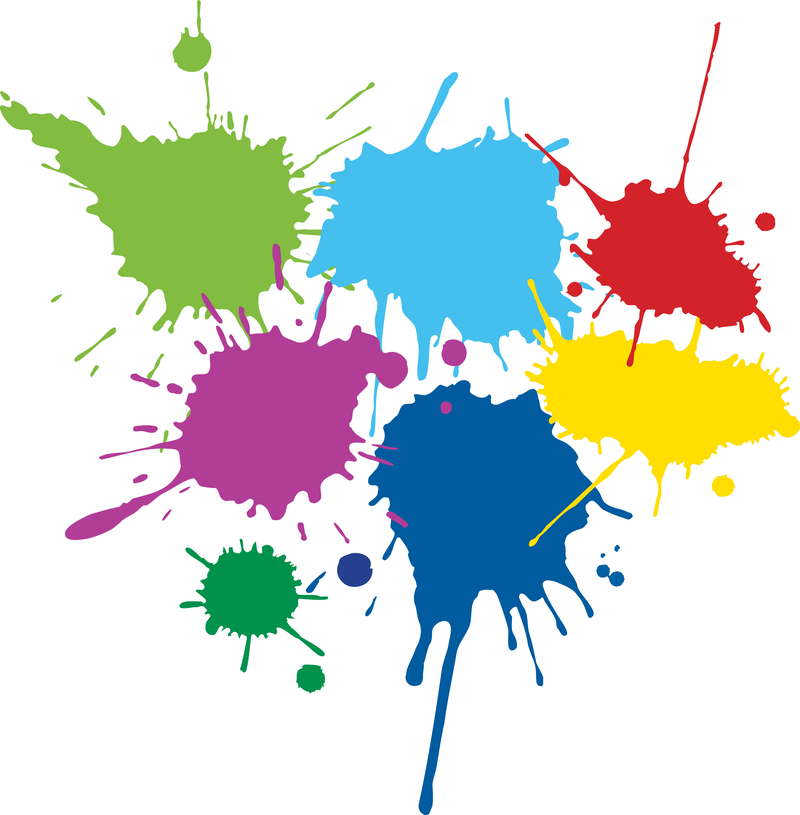 Download Free png Color Ink Droplets Graffiti V.