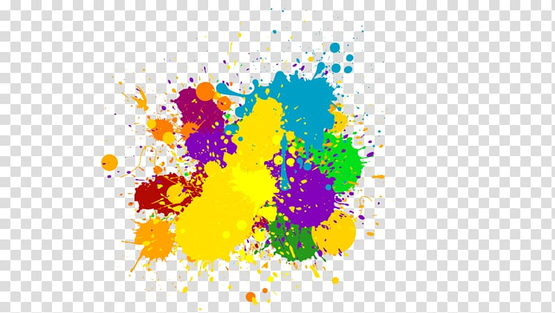 Color Ink , color splash transparent background PNG clipart.