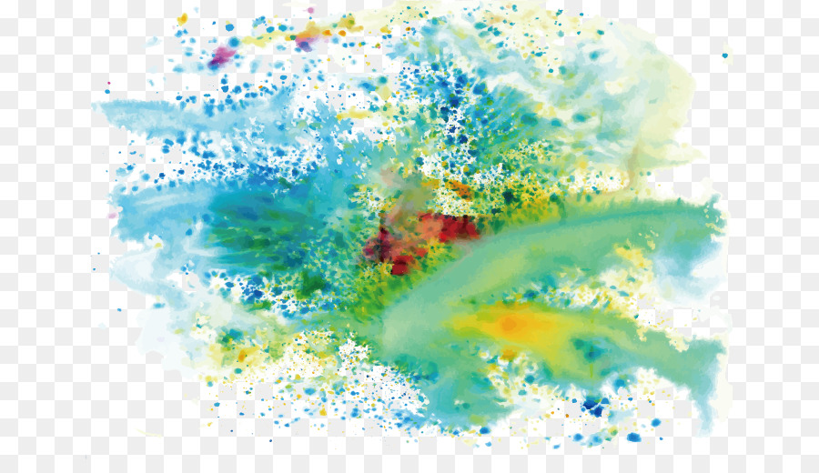 Watercolor Splash Background png download.