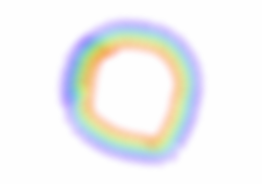 Rainbow Rainbowlight Circle Light Color.
