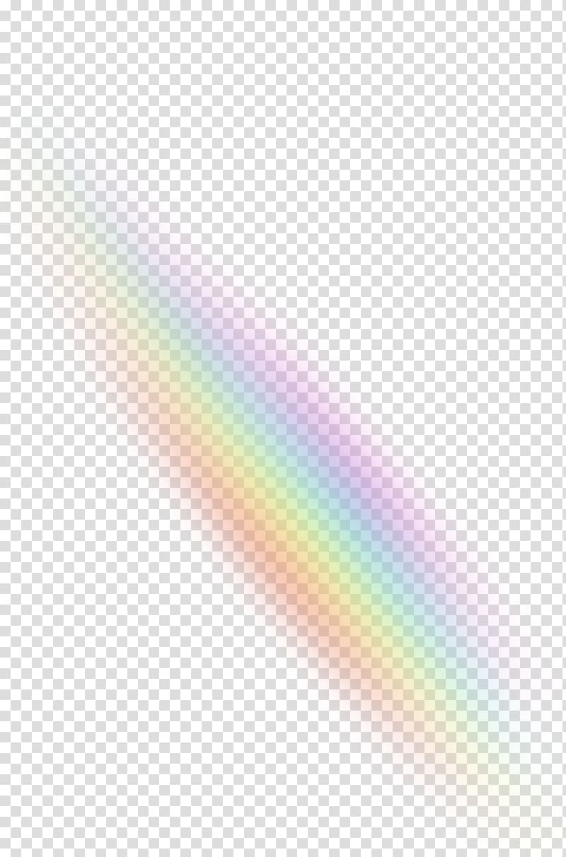 Rainbow Light Color Sky, Light effects transparent background PNG.