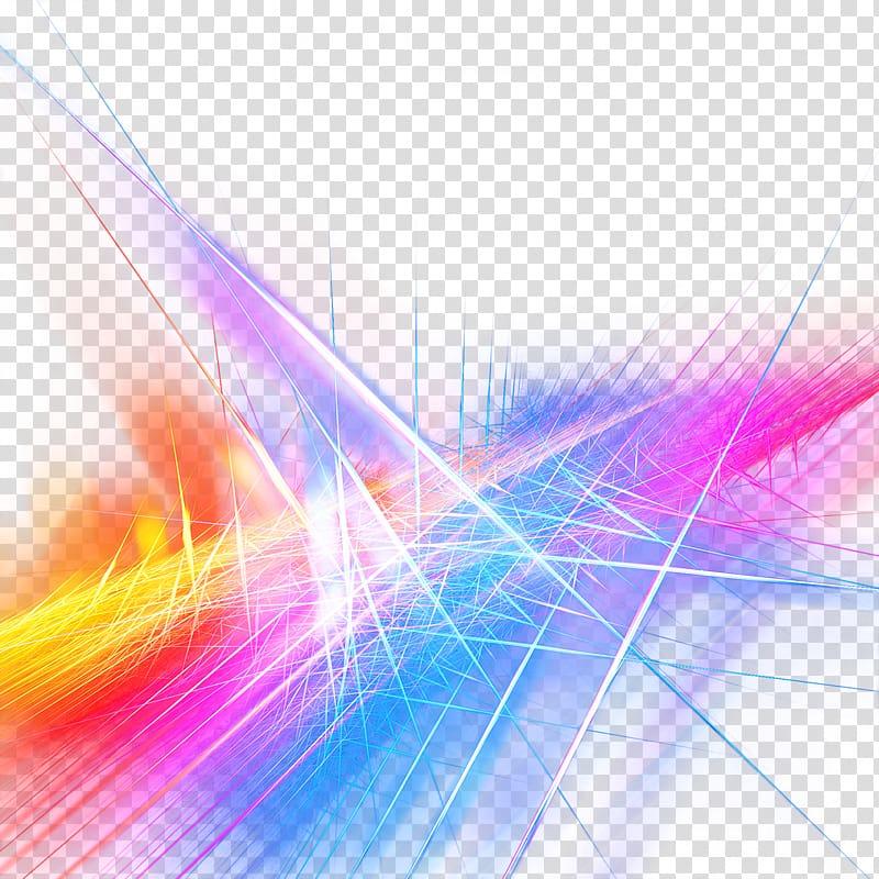 Color splatter illustration, Light Color Raster graphics.
