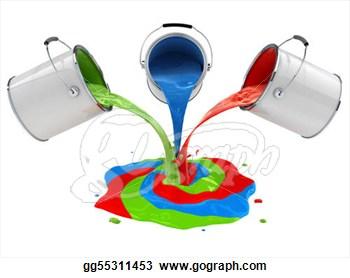 Mix colour clipart.