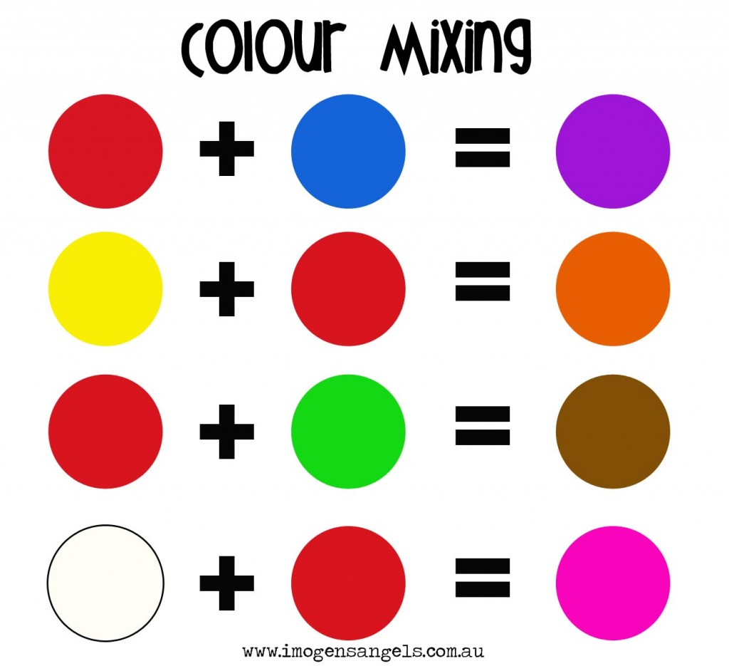 1000+ images about Mix It Up! Color Mixing Month on Pinterest.