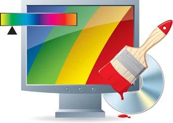 Monitor Clip Art, Vector Monitor.