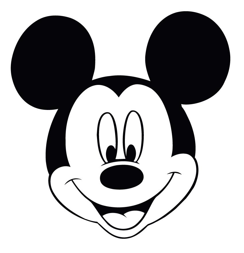 Triple color mouse clipart.