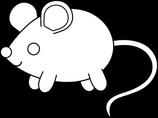 Mouse Color Clipart.
