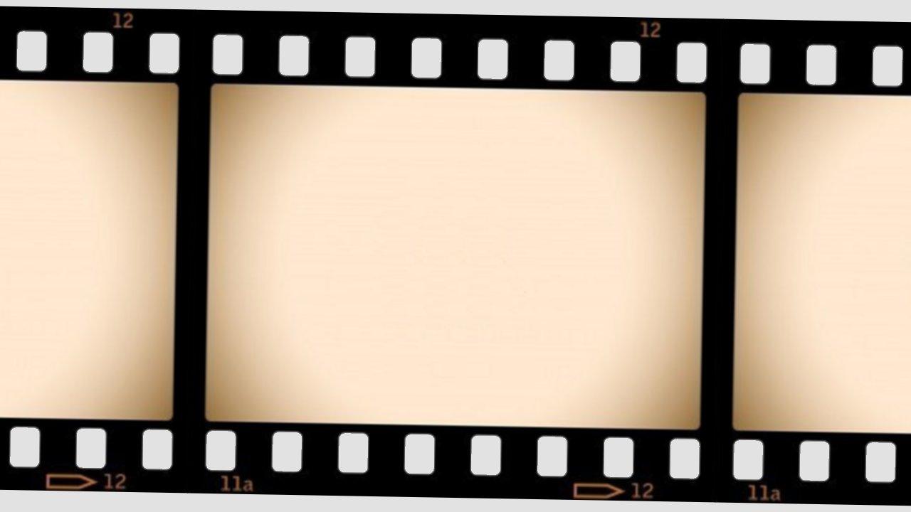 Movie Reel Border.
