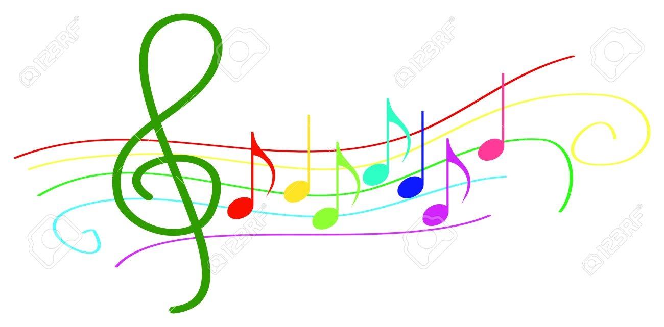 Music Clipart Color.