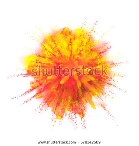 Color Explosion Stock Images, Royalty.