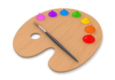 Paint Palette Clip Art & Paint Palette Clip Art Clip Art Images.
