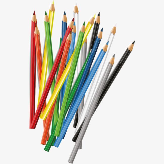 Creative Color Pencil, Color Clipart, Co #179558.
