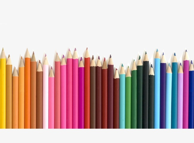 Colored Pencils, Pen, Color, Pencil PNG #122984.
