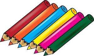 Colored Pencils Clipart.