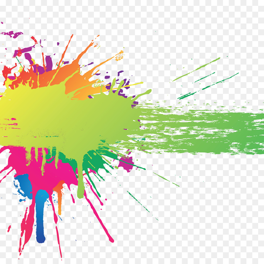 Splash Abstract Background png download.