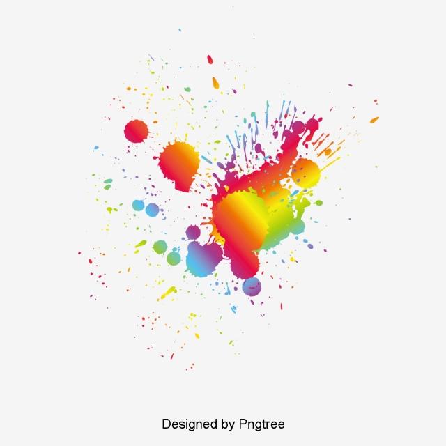 Color Splash PNG Images.