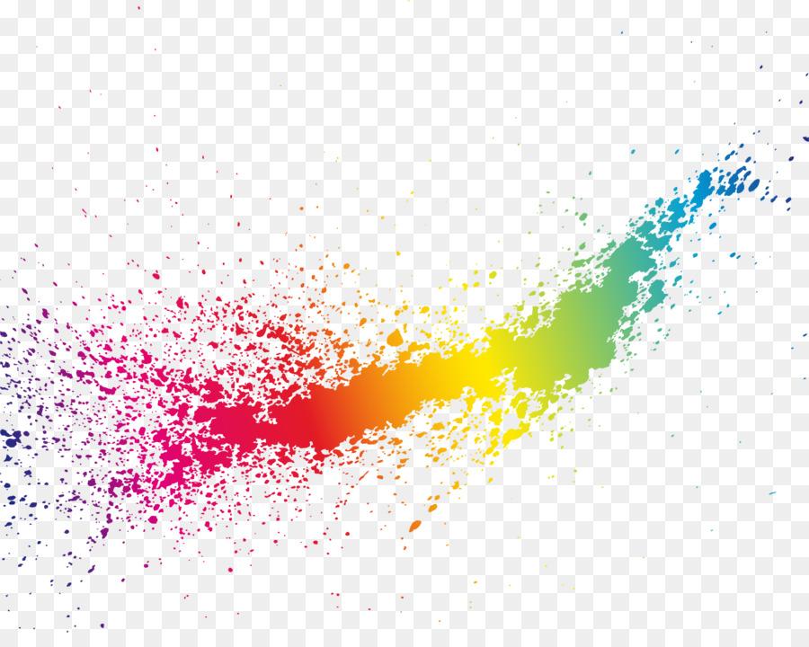Color Splash png download.