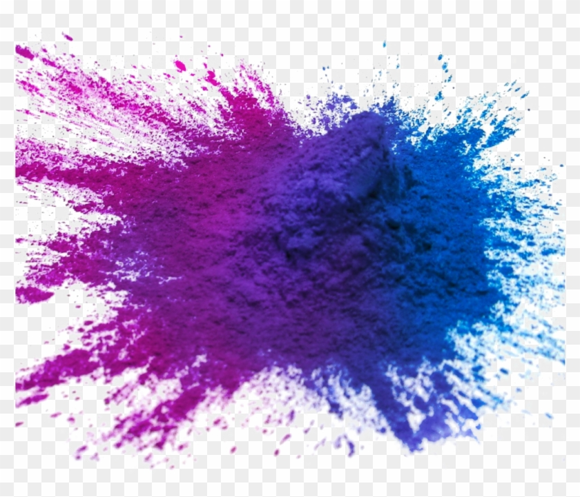 Holi Color Png Image With Transparent Background.