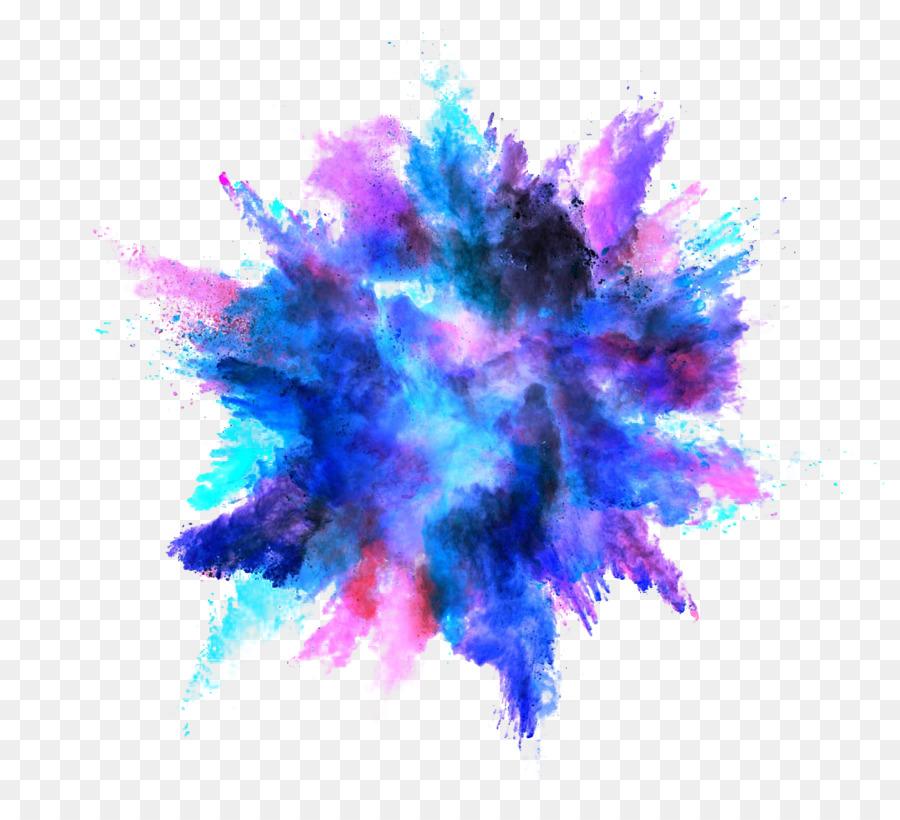Color, Dust Explosion, Explosion, Blue, Purple Png.