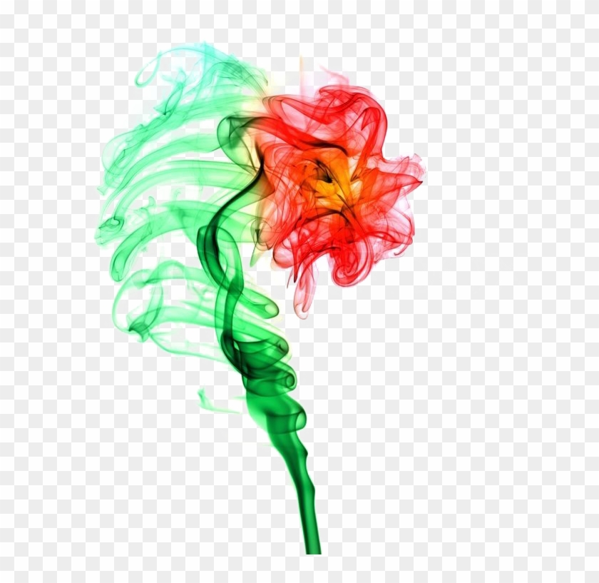 Colorful Smoke Png Clipart.