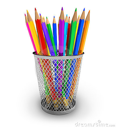 Clipart pencil pot.