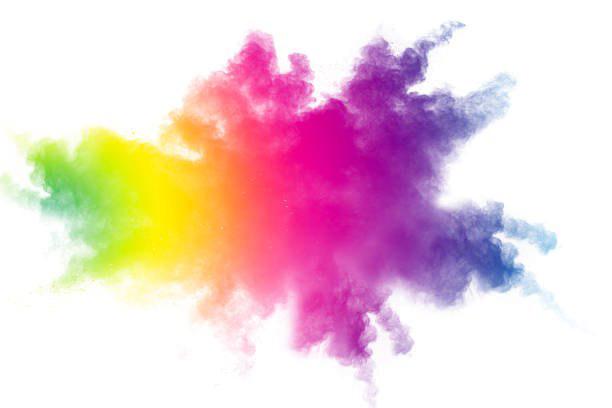 Holi Color Powder Transparent Background.