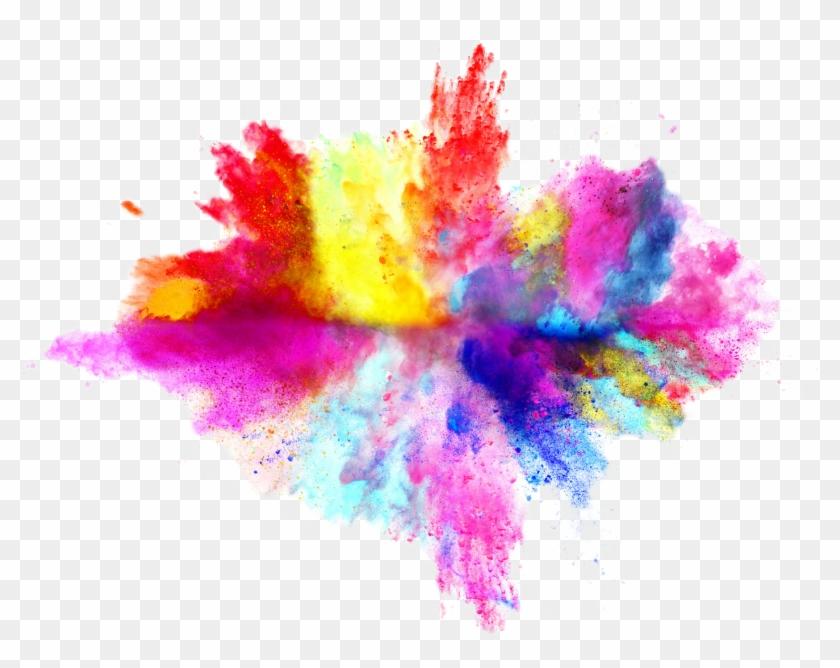 Color Powder Transparent Background, HD Png Download (#108975), Free.