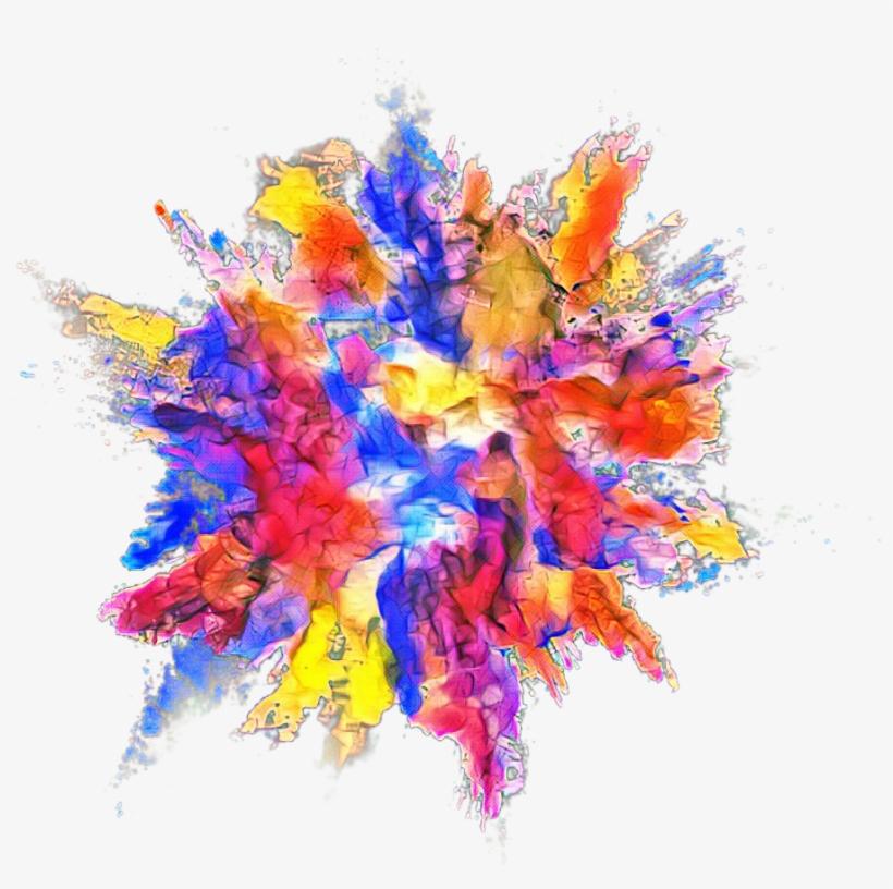 Explosion Color Powder Dust.