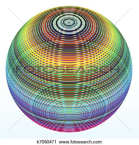 Clipart of Full color range k7050471.