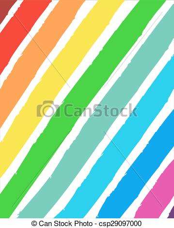 Vector Clipart of Color range painted background..