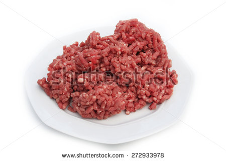 Ground beef clipart no color.