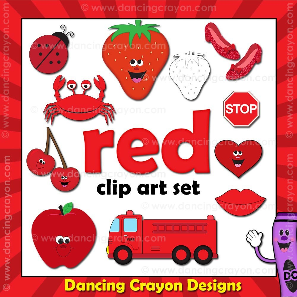 Color red clipart 4 » Clipart Station.