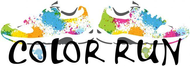 Fun (and free!) clipart if you're organizing a color run..