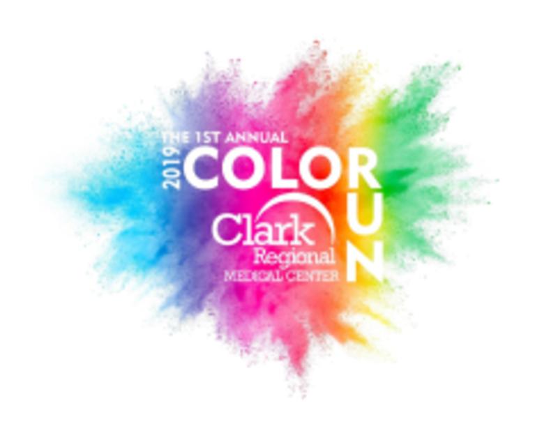 Clark Regional Medical Center 2019 Color Run.